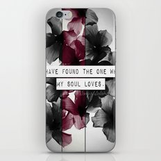 My soul loves iPhone & iPod Skin