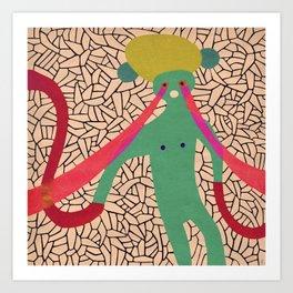 Pony Eyed Vectors Art Print