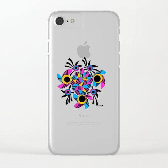 - rose - Clear iPhone Case