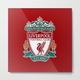 LiverpoolFC Metal Print