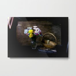 Painting a Scene with Lights Metal Print