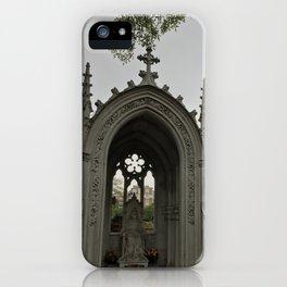 The Grey Grandeur iPhone Case