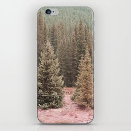 Look For Me In The Trees iPhone Skin