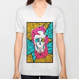 Death Grip #1 Unisex V-Neck