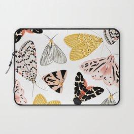 Moth's Diverse Beauty Pattern Laptop Sleeve