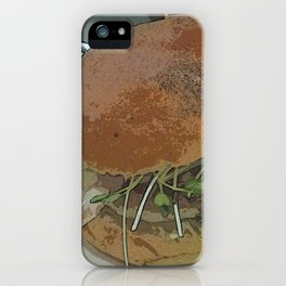 Big City Burger DPPA140817a iPhone Case