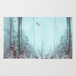 everything and more - winter forest Rug