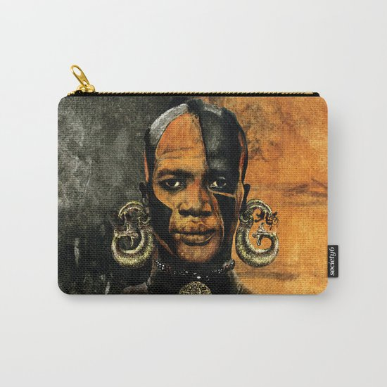 Man AFRICAN Carry-All Pouch