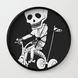 Death Kid Bone Ride Wall Clock