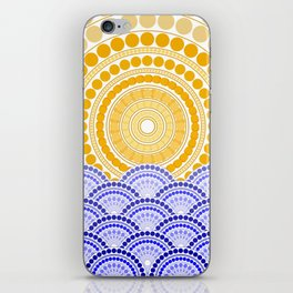 LIGHT OF DAWN (abstract tropical) iPhone Skin