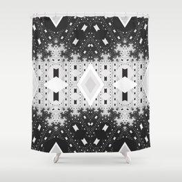 Indienous Fractal Shower Curtain