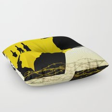 Paths of Glory Floor Pillow
