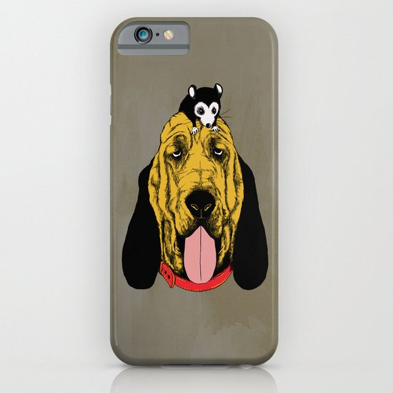 The Mouse and the Bloodhound iPhone & iPod Case