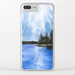 Heyburn State Park Clear iPhone Case