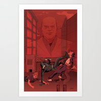 The Man Without Fear  Art Print