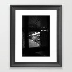 1st Stop Framed Art Print