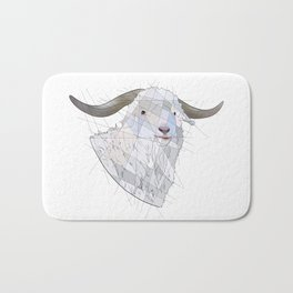 Angora Goat Bath Mat