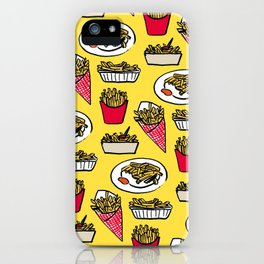 My French Fries Diet iPhone Case