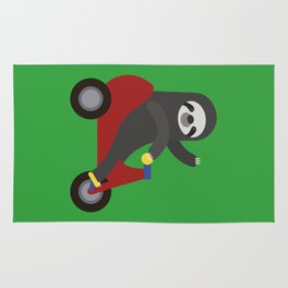 Sloth on Tricycle Rug