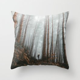 The Bewitching Woods Throw Pillow