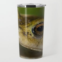 Frog posing Travel Mug