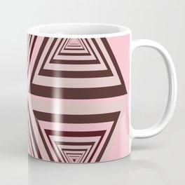 6 OP Triangles Millenial Pink Coffee Mug