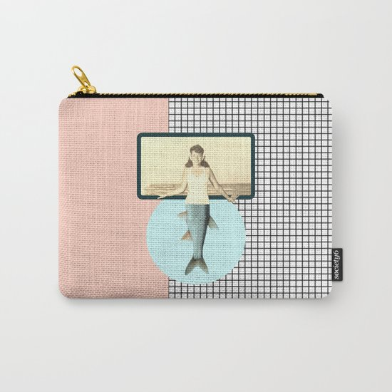 mermaid style Carry-All Pouch