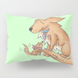 Golden Father's Day Pillow Sham