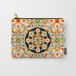 Pastel Carousel Pattern Carry-All Pouch