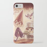 over the garden wall iPhone & iPod Cases featuring Over the Garden Wall by Keikilani