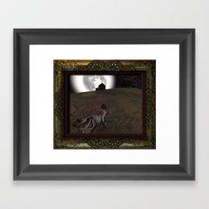 Kristina's Wurld Framed Art Print