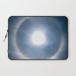 Rainbow Around the Sun Laptop Sleeve