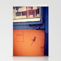 puerto rico Stationery Cards featuring Lizard in Puerto Rico by ANoelleJay