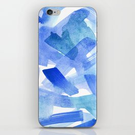 Bleu iPhone Skin