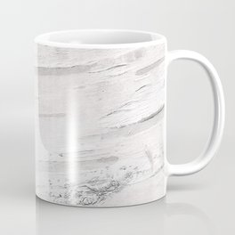 White Birch Wood Coffee Mug