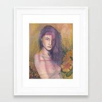 focus Framed Art Prints featuring Focus by Madelyne Joan Templeton