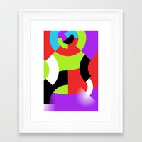 gamer Framed Art Prints featuring Gamer by DARWIN STEAD