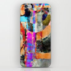 Artful Spirit Mosaic Colorful Geometric Abstract iPhone & iPod Skin