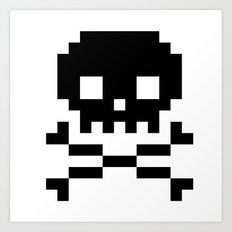 skullkid Art Print