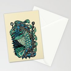 The wind that rocks the leaves Stationery Cards