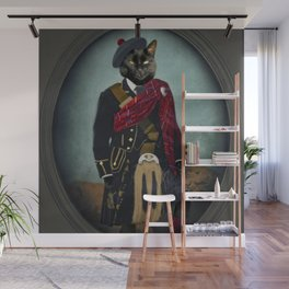 Boris the Bruce, Mouser-in-Chief Wall Mural