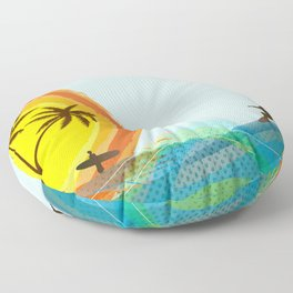 Enjoy summer Floor Pillow