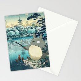 Japanese woodblock mashup Stationery Cards