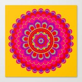 Masala Mandala Canvas Print