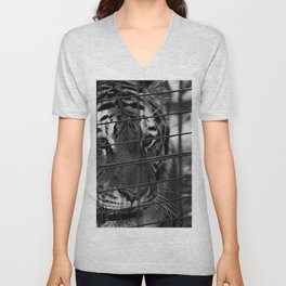Caged Rage Unisex V-Neck