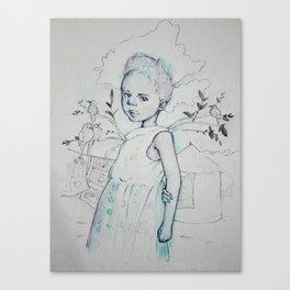 África Canvas Print