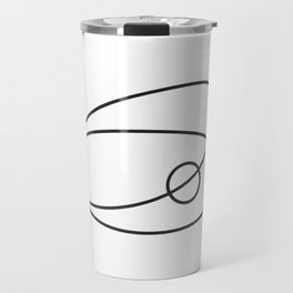 The sand makes the pearl. (Oyster) Travel Mug