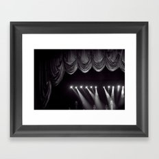 Theater Framed Art Print
