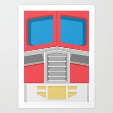 Minimal Prime Art Print