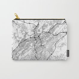 Minimal City Maps - Map Of Birmingham, Alabama, United States Carry-All Pouch